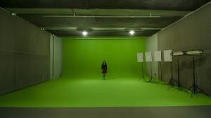 Estudio para gravação e produção de vídeos