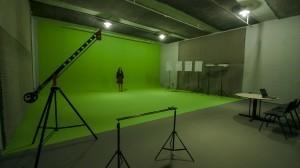 Amplo estúdio para produção de vídeos