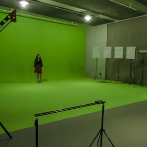 Estúdio Chroma-key da Produtora de Vídeo