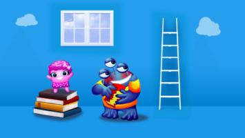 Book Lovers Kids Propaganda de TV em Animação 2D