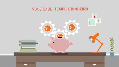 """Banco Intermedium """"Tempo é Dinheiro"""" – Propaganda Web em Motion Graphics"""
