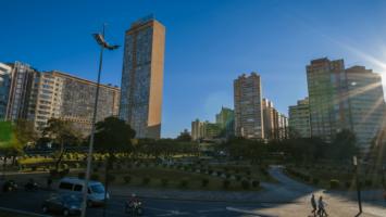 Propaganda sobre o Conselho de Arquitetura e Urbanismo de Minas Gerais - CAU/MG