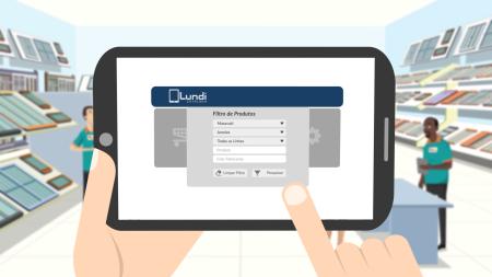 App Lundi - Vídeo Explicativo em Motion Graphics