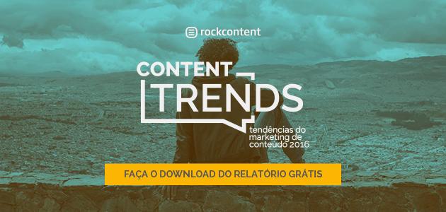 Tendências do Marketing de Conteúdo 2016