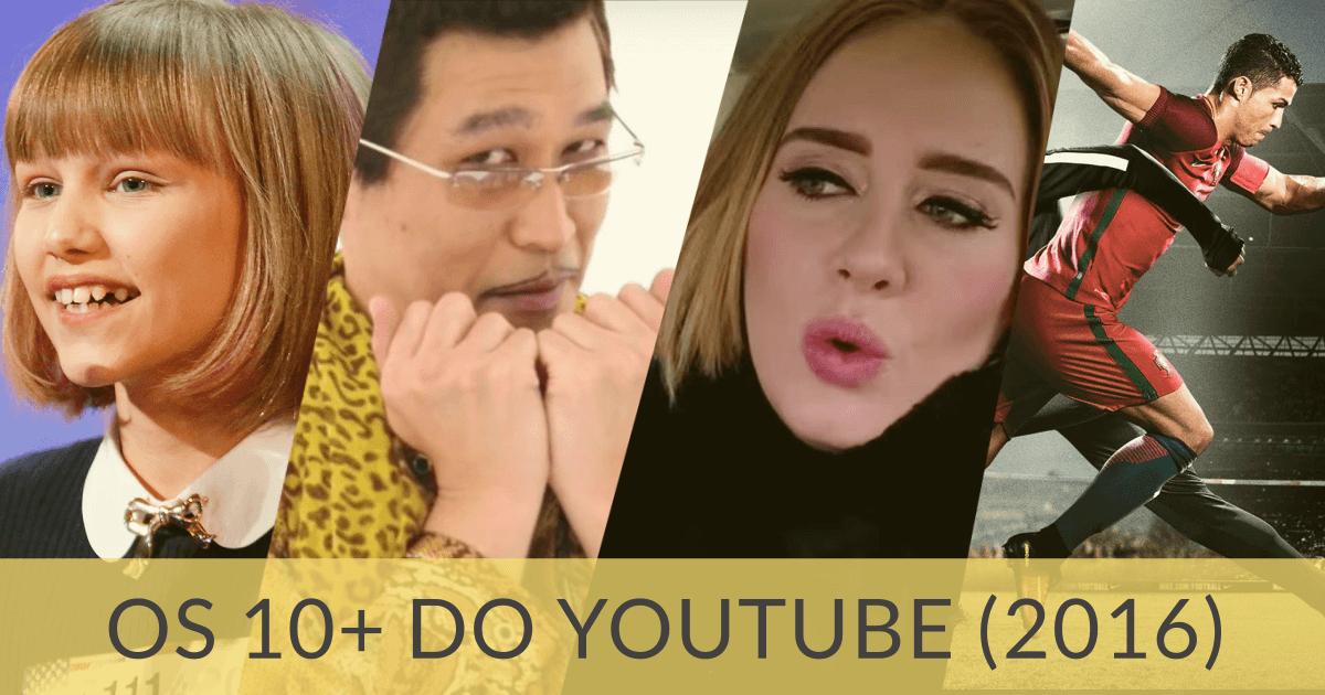 Sim, estes foram os 10 vídeos mais vistos no Youtube em 2016