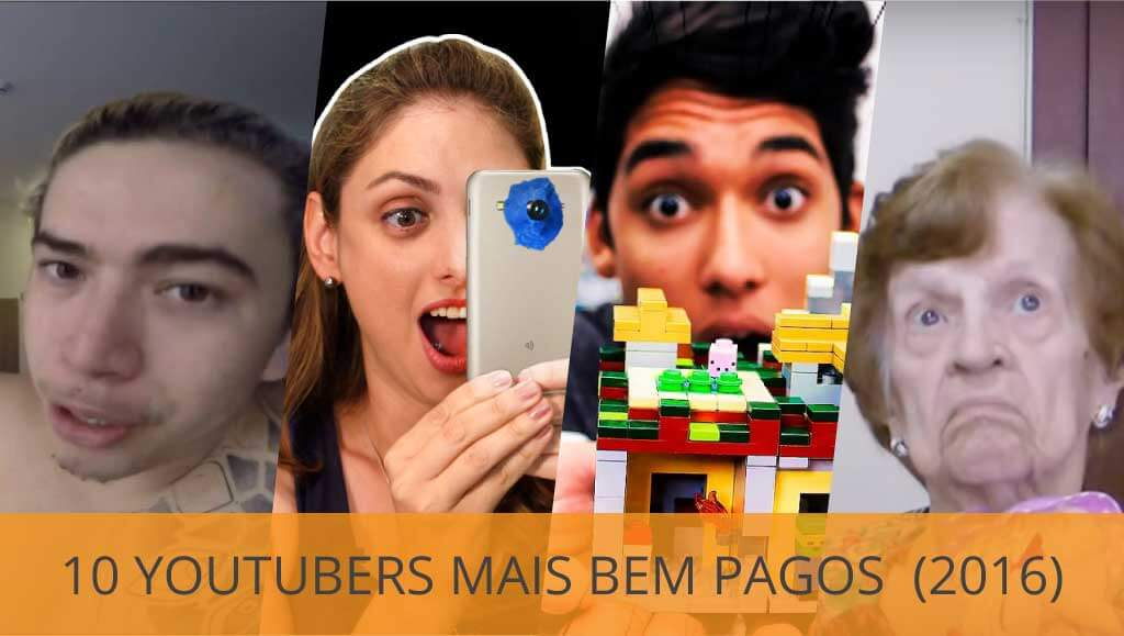 Quanto ganha um Youtuber famoso? Veja os 10 mais do Brasil