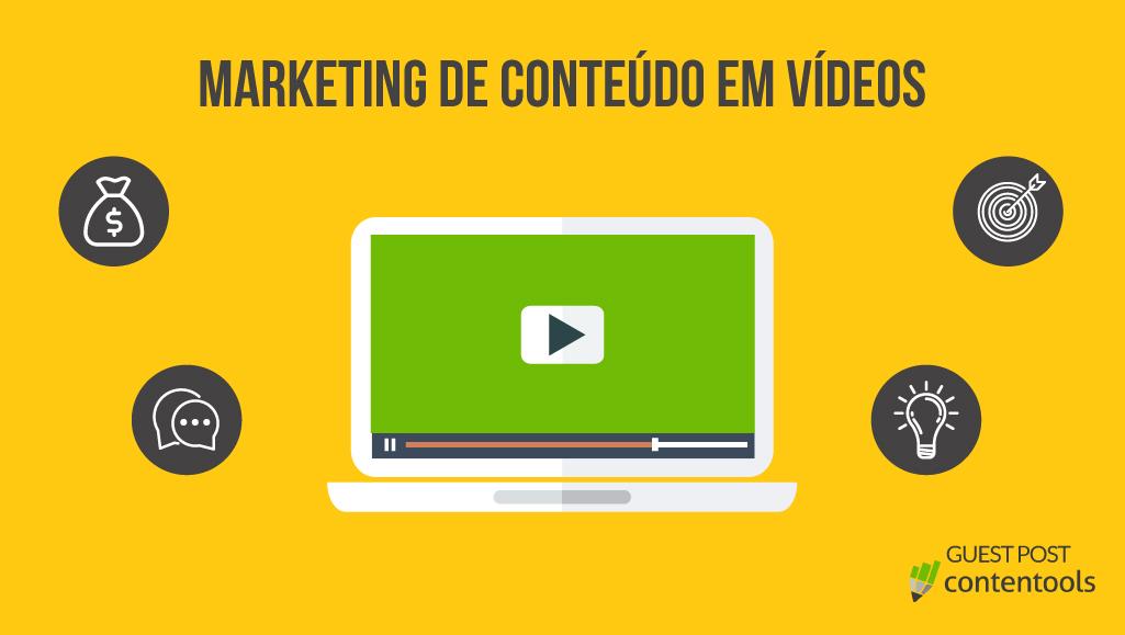 Por que usar vídeos em sua estratégia de marketing de conteúdo?