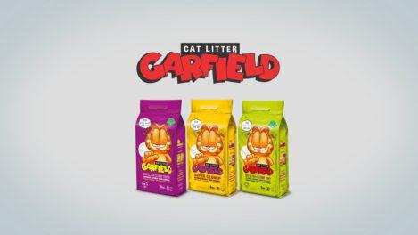 Areia de Gato Garfield