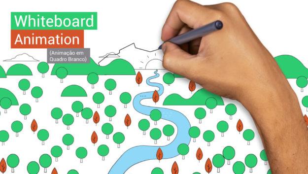 """Como fazer um vídeo em Whiteboard Animation ou """"Animação em Quadro Branco"""""""