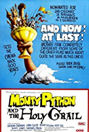 Sessão Pipoca: Monty Python em Busca do Cálice Sagrado