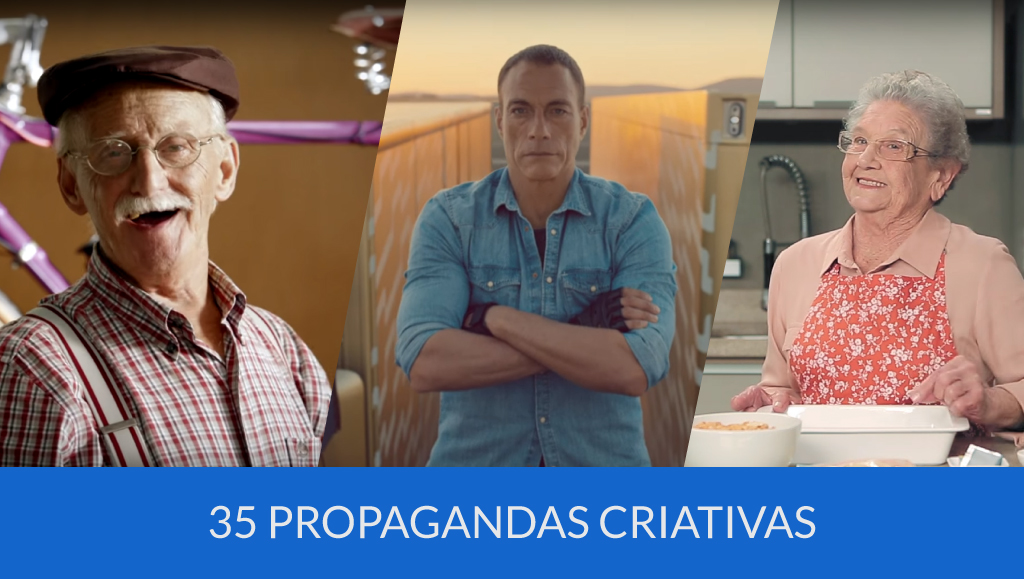 35 Propagandas Criativas que conquistaram seus objetivos