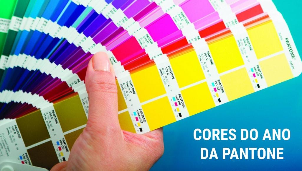 As cores dos últimos 10 anos, segundo a Pantone