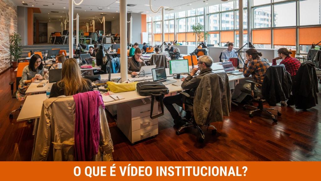 O que é Vídeo Institucional?